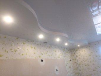 Натяжной потолок с подсветкой в СПб - фото id45678