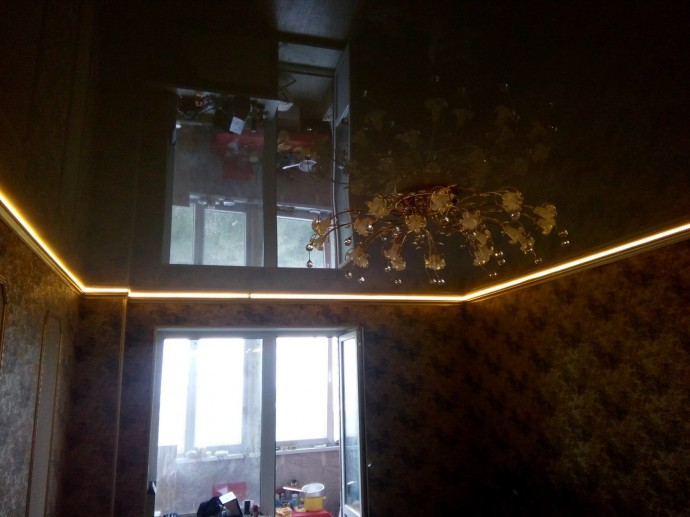 Натяжной потолок с подсветкой в СПб - фото idc7948983
