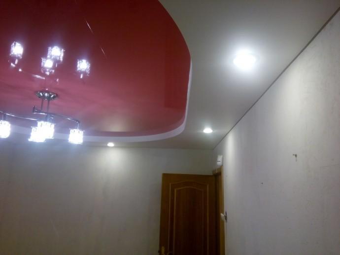 Натяжной потолок с подсветкой в СПб - фото id3bd8a1b2
