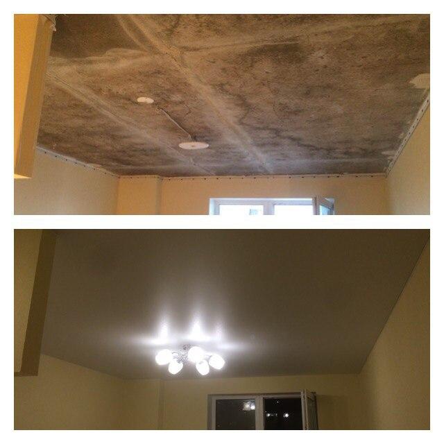 Натяжной потолок с подсветкой в СПб - фото id2abad5ce
