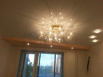 Натяжной потолок с подсветкой в СПб - фото id9d4f3952