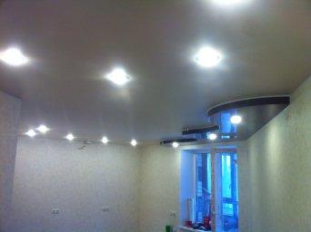 Натяжной потолок с подсветкой в СПб - фото ide4b3945f