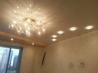 Натяжной потолок с подсветкой в СПб - фото idc9f68e8c