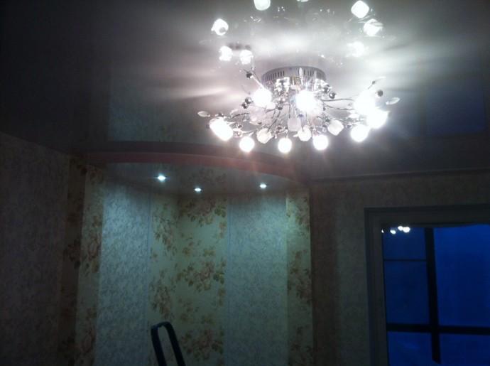 Натяжной потолок с подсветкой в СПб - фото idaf799bae