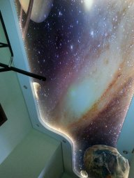 Натяжной потолок с подсветкой в СПб - фото id3853dd43